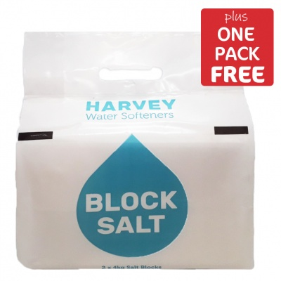 Harveys Block Salt 10 Packs + 1 FREE PACK