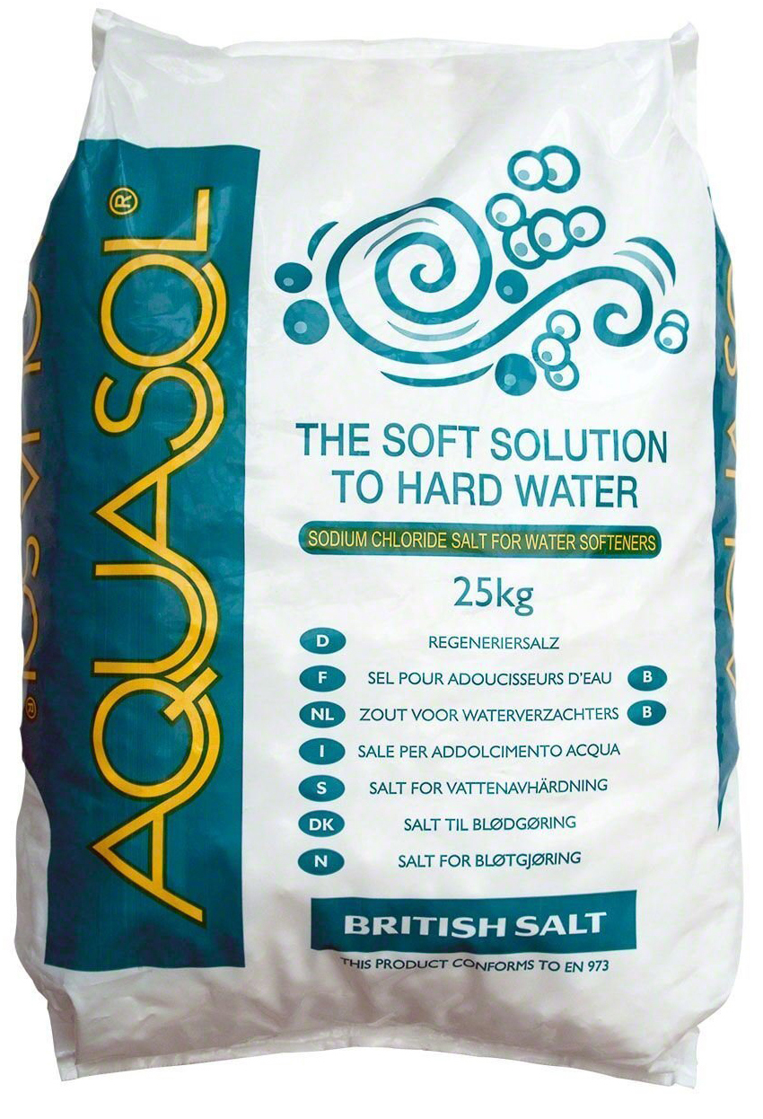 Aquasol Salt Tablets 25kg x 5 bags + 1 FREE EXTRA 25KG BAG
