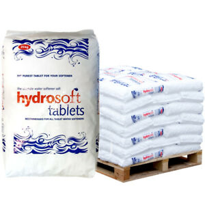 Hydrosoft Tablets 25kg x 49 bags - (NO FORKLIFT REQUIRED) SEE POSTCODES BELOW